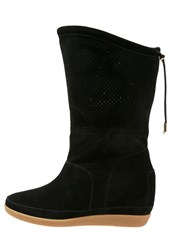 Shoe The Bear Emmy Iii Wedge Boots Black