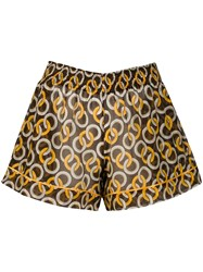 F.R.S For Restless Sleepers Geometric Print Shorts 60