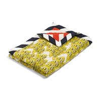 Wrong For Hay 'Smileys' Bedspread Yellow