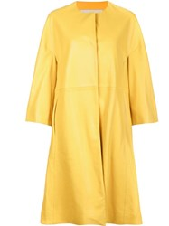 Adam By Adam Lippes 'Cocoon' Coat Yellow Orange