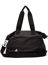 Adidas By Stella Mccartney Studio Logo Print Holdall Black Multi