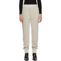 Haider Ackermann Beige Freeman Lounge Pants