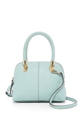 Cole Haan Benson Small Leather Dome Satchel Green