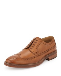 Ben Sherman Max Leather Wing Tip Oxford Tan 03I