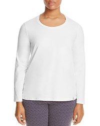 Marina Rinaldi Valanga Scoop Neck Tee White