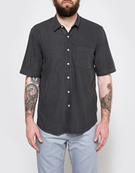 Our Legacy Short Sleeve Classic Shirt Green Cast