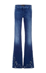 Seafarer Mid Rise Special Duck Flared Jeans Medium Wash