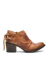 Freebird Sandi Booties Cognac
