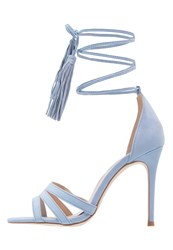 Dorothy Perkins Sunset High Heeled Sandals Blue Light Blue