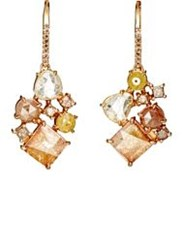 Sharon Khazzam Women's Norma Drop Earrings Colorless