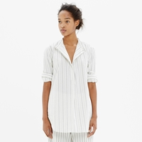 Madewell The Perfect Tunic In Stripe