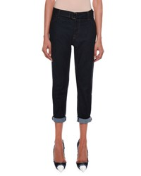 Tom Ford Rolled Cuff Cropped Jeans Blue