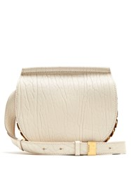 Givenchy Infinity Mini Leather Cross Body Bag Cream