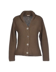 Massimo Alba Cardigans Military Green