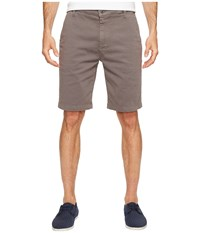 7 For All Mankind Luxe Performance Sateen Chino Shorts Shaded Stone Men's Shorts Gray