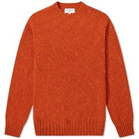 Ymc Suedehead Crew Knit Orange