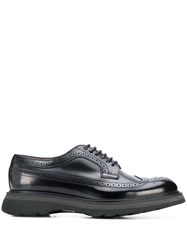 Doucal's Lace Up Brogues Black