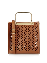 Sophie Hulme Dora Structured Leather Tote