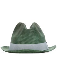 Paul Smith Woven Hat Green