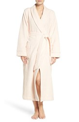 Nordstrom Women's Lingerie Terry Velour Robe Pink Creole