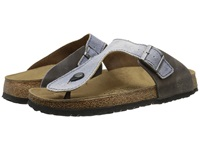 Birkenstock Ramses By Birki Tie Dye Gray Textile Men's Sandals White