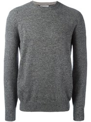 Brunello Cucinelli Crew Neck Pullover Grey