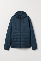 Handm H M Padded Outdoor Jacket Blue
