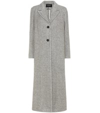 Isabel Marant Duard Alpaca And Wool Coat Grey