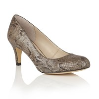 Lotus Colombina Animal Print Courts Bronze