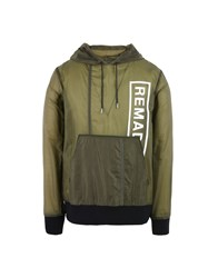 Christopher Raeburn Sweatshirts Military Green