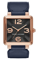 Marc Jacobs Women's Vic Leather Strap Watch 34Mm