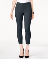 Alfani Petite Pull On Cropped Skinny Pants Created For Macy's Nine Iron