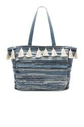 Amuse Society Permanent Vacation Tote Blue