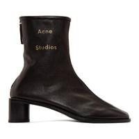Acne Studios Black Bertine Boots