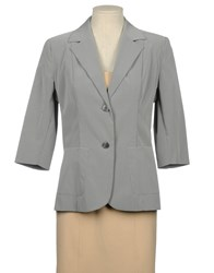 Cristinaeffe Suits And Jackets Blazers Women Grey