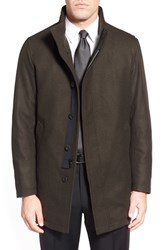 Men's Sanyo 'Rainwool' Wool Car Coat