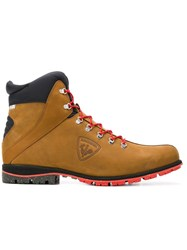 Rossignol Lace Up Ankle Boots Brown
