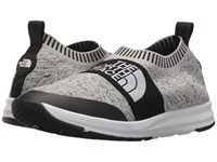 The North Face Traction Knit Moc Heather Grey Tnf White Women's Shoes Gray