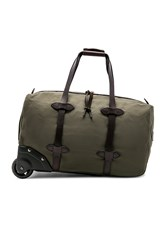 Filson Small Rolling Duffle Army