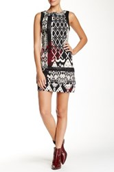 Desigual Printed Dress Black