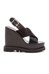 Marc By Marc Jacobs Irving Cow Hair Sandal Black