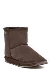 Emu Platinum Stinger Mini Genuine Fur Boot Brown