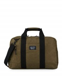 Original Penguin Waxed Canvas Carryall Bag Dusty Olive