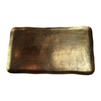 Pols Potten Antique Brass Rectangular Platter