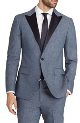Bonobos Men's Trim Fit Linen Blend Dinner Jacket