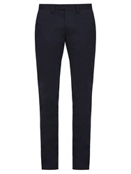 Acne Studios Max Stretch Cotton Chino Trousers Navy