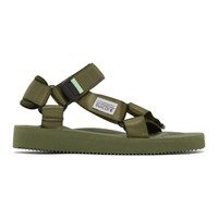 Suicoke Green Depa Cab Sandals