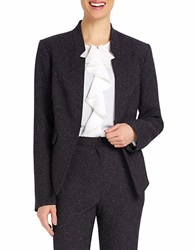 Ellen Tracy Fleck Blazer Jacket Black