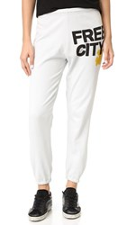 Freecity Feather Weight Sweatpants Gesso Yellow