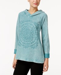 Styleandco. Style Co. Embroidered Hoodie Only At Macy's Green Nectar